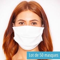 50 mask of fabric washable...